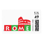 Rome, Italy Postage Stamp