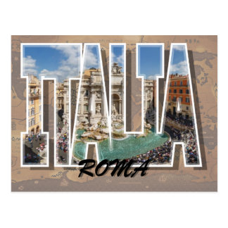 Rome, Italy Postcard