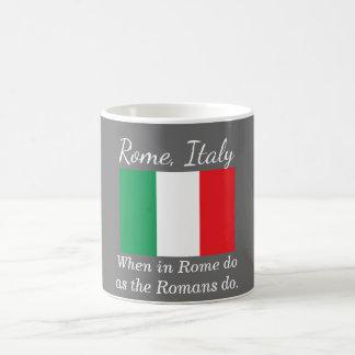 Rome Italy - souvenir coffee mug