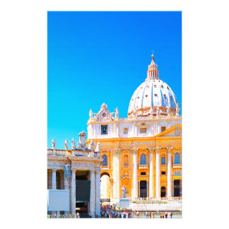 Rome, Italy - St Peters Basilica Stationery