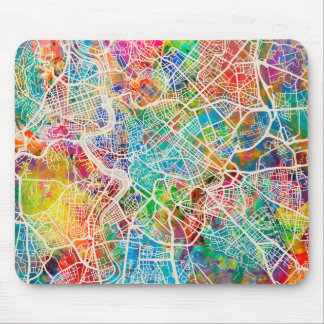 Rome Italy Street Map Mouse Pad