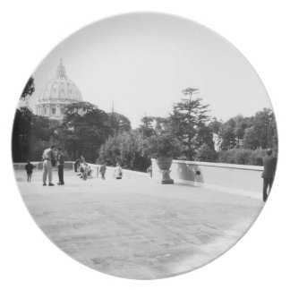 Rome Italy, The Vatican Gardens Party Plates
