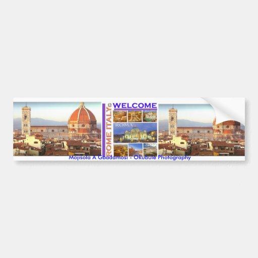 Rome Italy Today Bumper Sticker