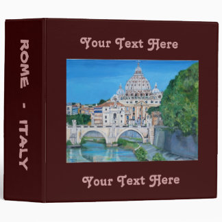 Rome, Italy - Travel Binder