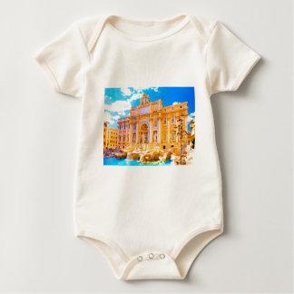 Rome, Italy - Trevi Fountain Baby Bodysuit