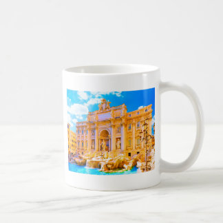 Rome, Italy - Trevi Fountain Coffee Mug