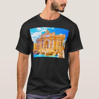 Rome, Italy - Trevi Fountain T-Shirt
