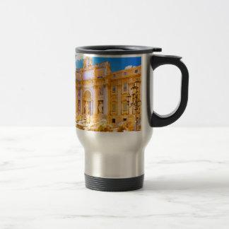 Rome, Italy - Trevi Fountain Travel Mug