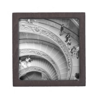 Rome Italy, Vatican Staircase 2 Jewelry Box