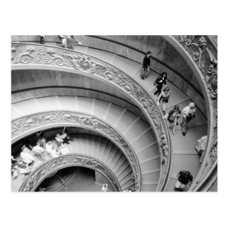 Rome Italy, Vatican Staircase 2 Postcard