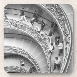 Rome Italy, Vatican Staircase 3 Beverage Coaster