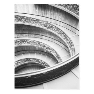 Rome Italy, Vatican Staircase Postcard