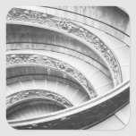 Rome Italy, Vatican Staircase Square Sticker