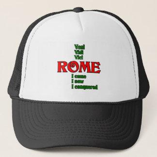 Rome Italy Veni Vidi Vici Trucker Hat