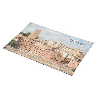 Rome, Italy - View of the Trajan's Market Placemat