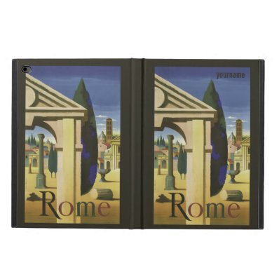 Rome Italy vintage travel custom device cases Powis iPad Air 2 Case