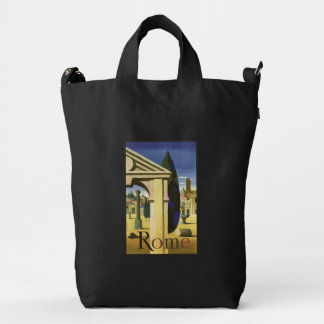 Rome Italy vintage travel duck bag