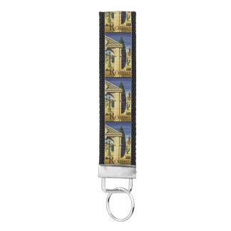 Rome Italy wrist key chain