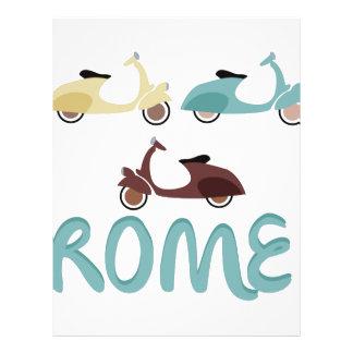 Rome Letterhead