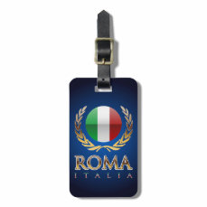 Rome Luggage Tag