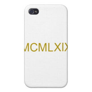 Rome_number_1969.png iPhone 4/4S Case