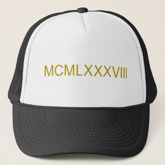 Rome_number_1988.png Trucker Hat