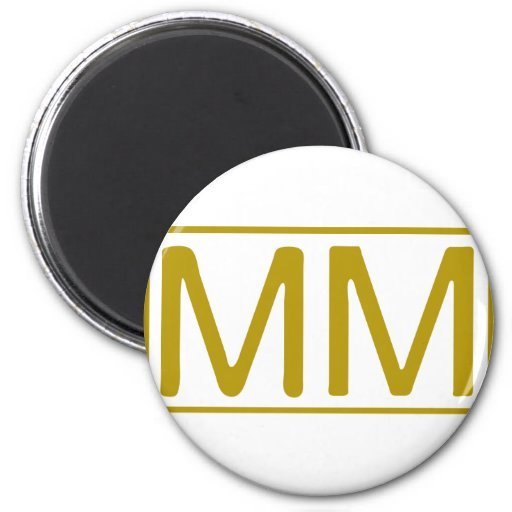 Rome_number_2000-2.png 2 Inch Round Magnet
