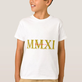 Rome-number-2011.png T-Shirt