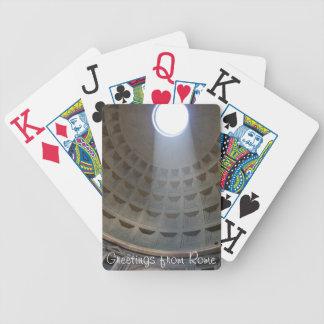 Rome Pantheon Customizable Playing Cards
