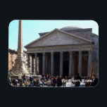 """Rome (Pantheon) Magnet<br><div class=""""desc"""">_ featuring a photo of the Pantheon in Rome,  Italy.</div>"""