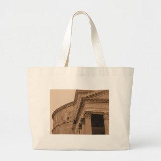 Rome Pantheon Photo Jumbo Tote Bag