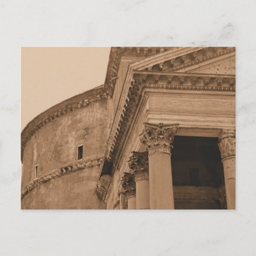 Rome Pantheon Photo postcard