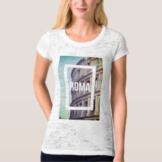 Rome Photography of Colosseum Italy T-Shirt