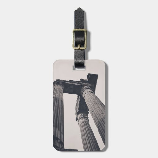 Rome pillars tags for luggage