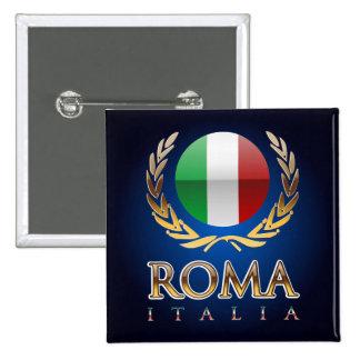 Rome Pinback Button