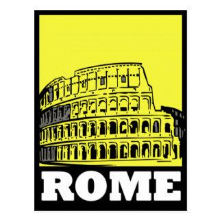 Rome Postcard Design