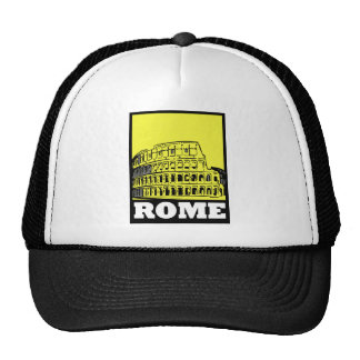 Rome Postcard Design Trucker Hat