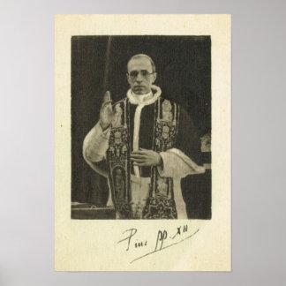 Rome, Ppope Pius XXII Poster