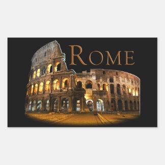 Rome Rectangular Sticker