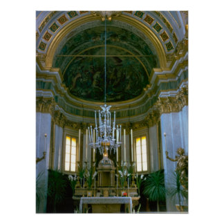 Rome; Reserved sacrament chapel Print