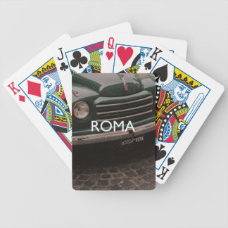 Rome - Roma Bicycle Playing Cards