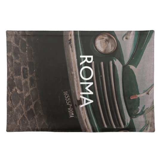 Rome - Roma Cloth Placemat