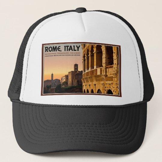Rome - Roman Forum Sunset Trucker Hat