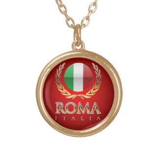 Rome Round Pendant Necklace