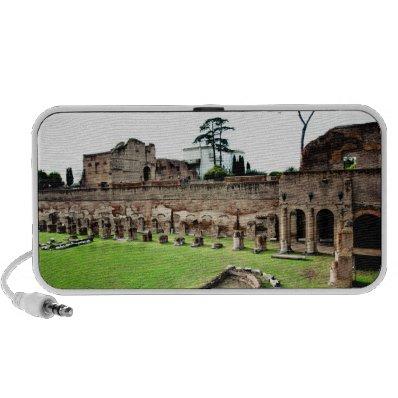 Rome ruins laptop speakers