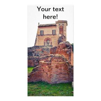 Rome ruins photo greeting card