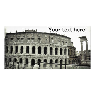 Rome ruins picture card