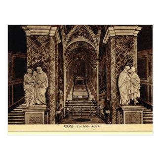 Rome, Scala Sancta Postcard