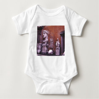 Rome Sculpted Body Parts Baby Bodysuit