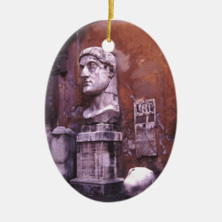 Rome Sculpted Body Parts Ceramic Ornament